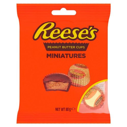 Reese's Peanut Butter cups Miniatures 80g (US)